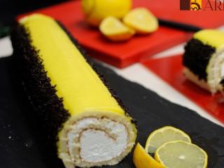 Brazo de gitano de limón