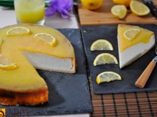 Pastel de Queso con Limón